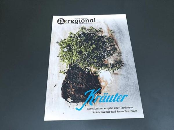 Zeitung A3 Kräuter regional