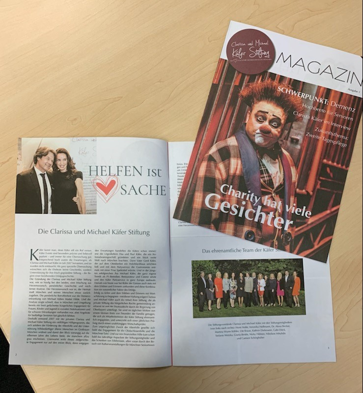 Käfer Stiftungs Magazin