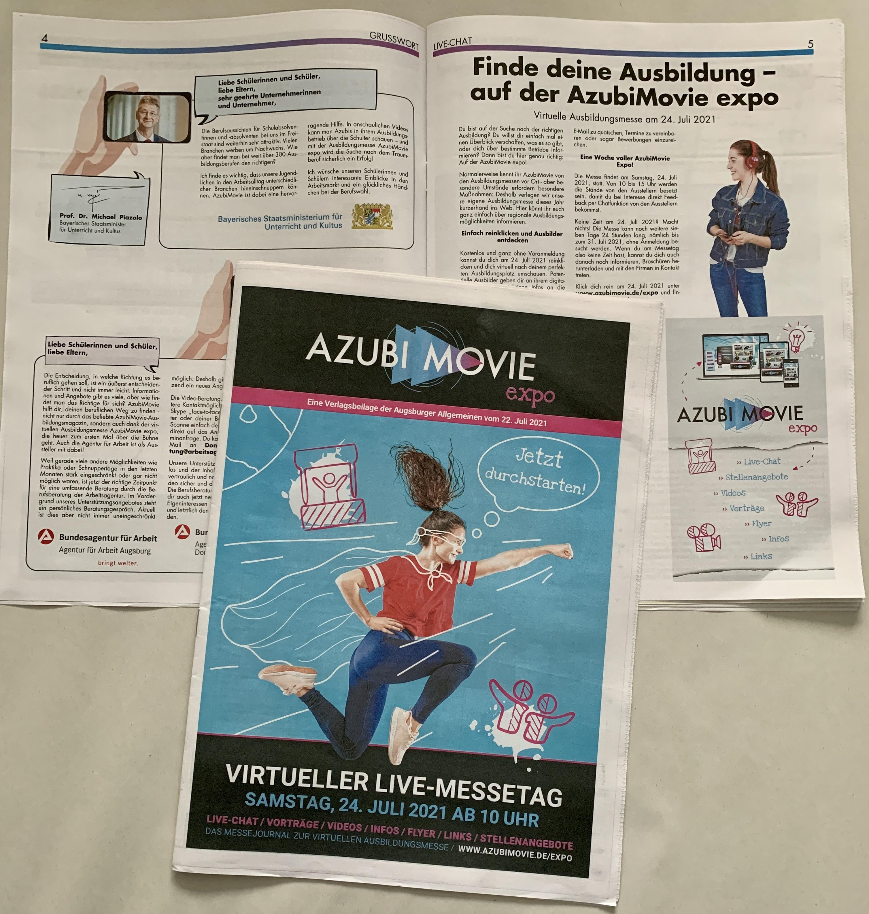 Azubi Movie Expo - Jetzt durchstarten!