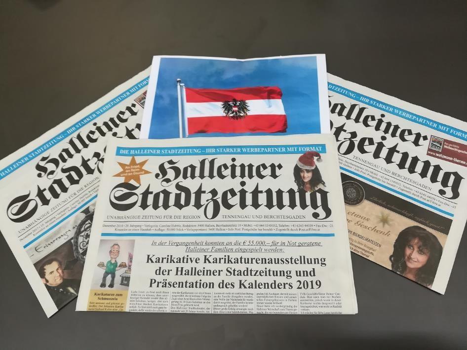 Presse-Druck auch für Österreichische Zeitung aktiv