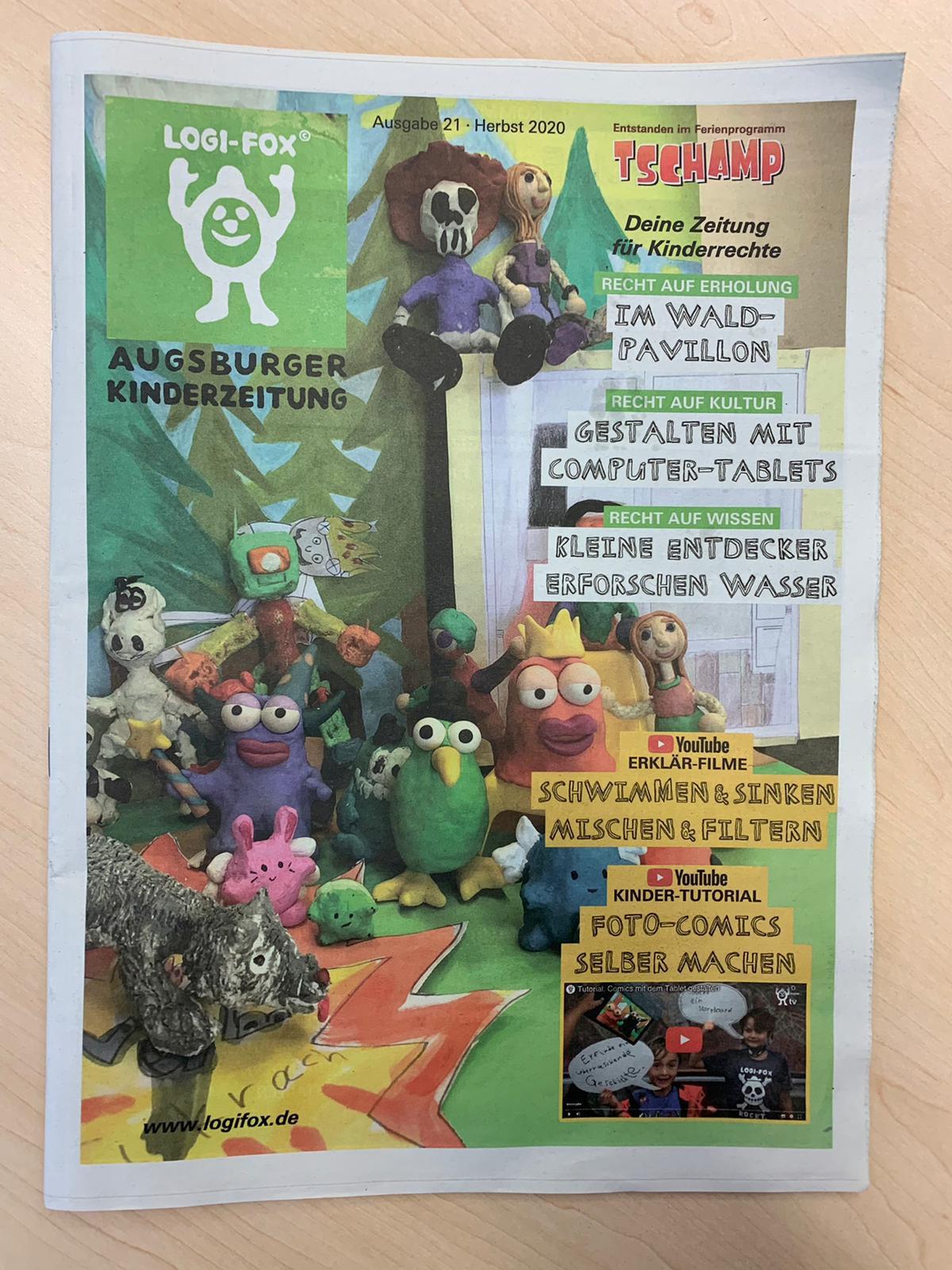 Logi-Fox Augsburger Kinderzeitung